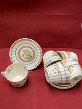 Load image into Gallery viewer, Copeland-Spode- England. Buttercup. Cup and Saucers