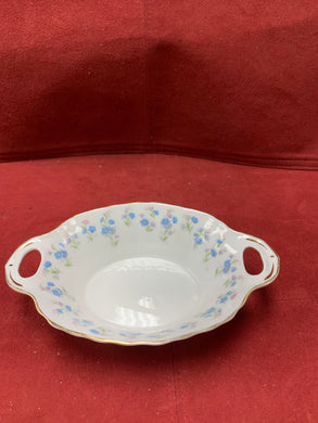 Royal Albert, Memory Lane, Sweet Meat Dish,  Forget-Me-Nots