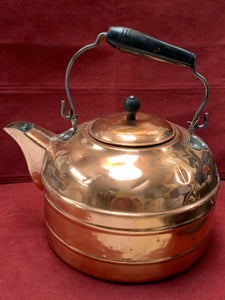 Unmarked, Large Capacity- Copper Tea Kettle