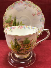 Load image into Gallery viewer, Royal Albert, England. Cup and Saucer,  Kentish Rockery