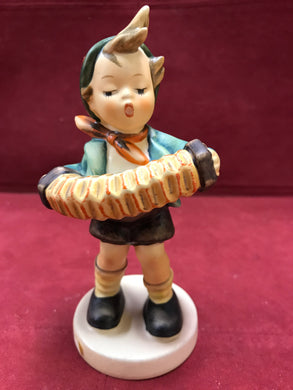 "Hummel. Germany. Figurine. Accordion Boy, # 185. 5-1/4"" High"