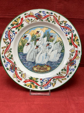 Royal Worcester,  The 12 days of Christmas. Plate #7
