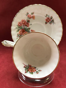 Royal Albert, England. Cup and Saucer. Centennial Rose-1967