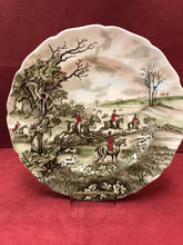 "Load image into Gallery viewer, Johnson Brothers, Tally Ho, Dinner Plates, ""The Jump"""