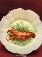 "Load image into Gallery viewer, Limoges, France.  7-1/2""-  Plates. Lobster (set of 6)"