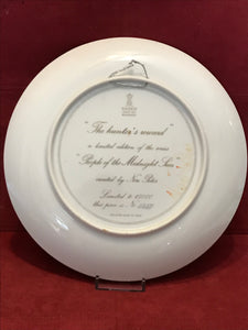 "Collectors Plate.  ""The Hunter's Reward"",   by Nori Peter.  10"""