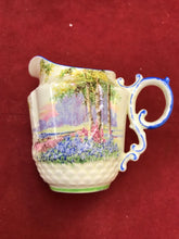 Load image into Gallery viewer, Cream and Sugar, Aynsley, Creamer, Bluebell Time