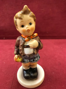 "Goebel. Hummel. Figurine. Cheeky Fellow, # 554. 4-1/8"" High"