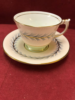 Aynsley, England. Cup and Saucer. Pattern C1481/3