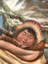 Load image into Gallery viewer, Collector Plate. Northern Lullaby, by Nori Peter. 10""