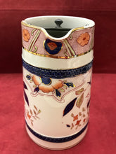 Load image into Gallery viewer, Burleigh Ware, B & L., Japonica, Imari Style, Jug with Pewter Lid