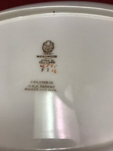 Wedgwood, Columbia, Oval Serving Platter