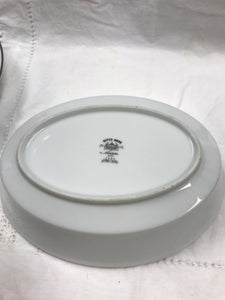 Noritake,Japan, Nitto Ware, Forest Glen, Oval Vegetable Dish