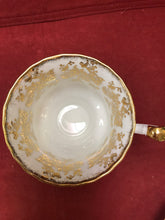 Load image into Gallery viewer, Royal Albert, England. Cup and Saucer.  Gold/White Chintz