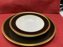 Load image into Gallery viewer, Coalport. England. Athlone. Brown & Gold. Place settings for 8 (48 pcs)