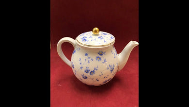 Breakfast Service, Arzberg, Germany, Bayern, Bone China, Tea pot, Blue and White
