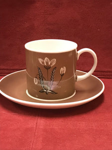 Mocha, Susie Cooper, coffee cups and saucers (2 sets)