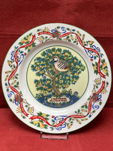 Royal Worcester.  The 12 days of Christmas.    Plate #1