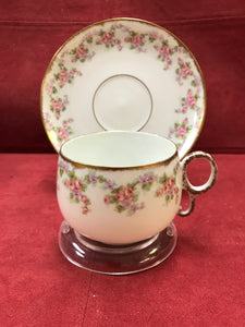 "Limoges, Bridal Wreath. Set of 8.  ""RESERVED for HANNAH"""