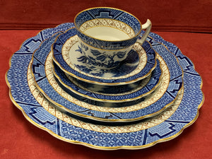 Booth's Real Old Willow, Dinner Service for 8.  (40 Pcs)