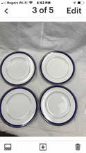 Load image into Gallery viewer, Firenze, Avalon, by Royal Worcester, England, set of 4 Luncheon Plates