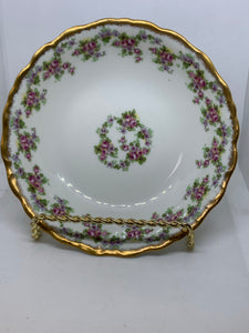 "Limoges, France. A.Lanternier & Co. ""Bridal Wreath"".  Bowls.  6"".  Sold Individually."