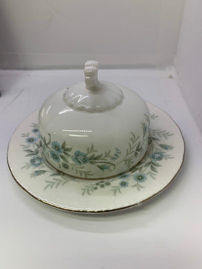 Paragon.  Debutante. Round Butter Dish with lid.