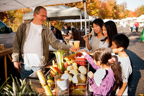 Grow a healthy family by shopping at your local farmer's market