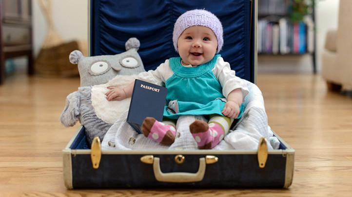 Tips for traveling with baby: