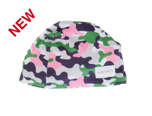 Hush Hat Camo Girl - Noise Reducing Design Baby Hats
