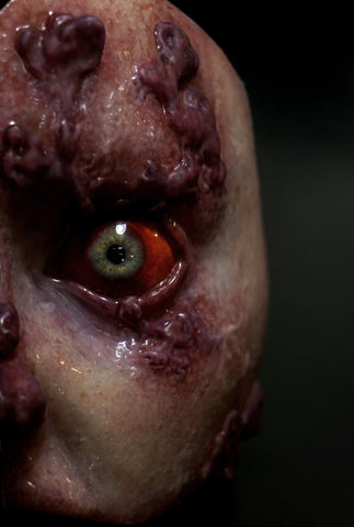 Infected Female Male Runner Silicone Orbital Eye Display
