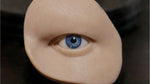 Human Male Silicone Orbital Eye Display
