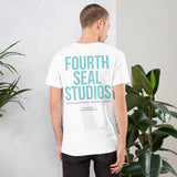White Short-Sleeve Logo T-Shirt