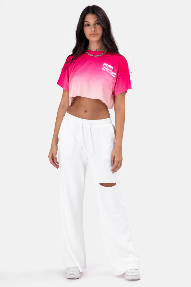HEART Cropped Tee