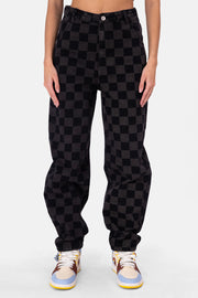 Donovan Checkered Jeans | OVERSIZED