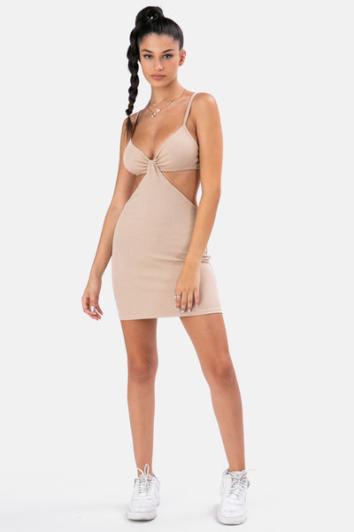 Ivy Cut-Out Mini Dress
