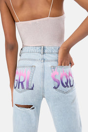 SQD Ripped Jeans | MOM