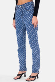 Ripley Textured Pattern Jeans | STRAIGHT