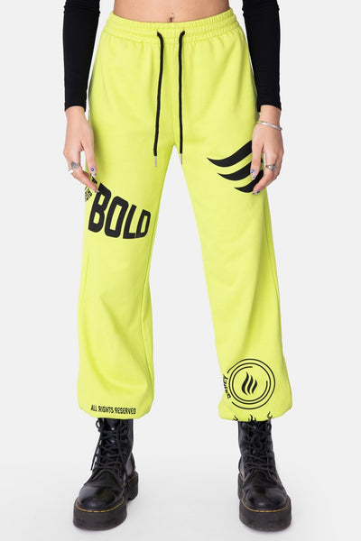 BOLD Neon Sweatpants