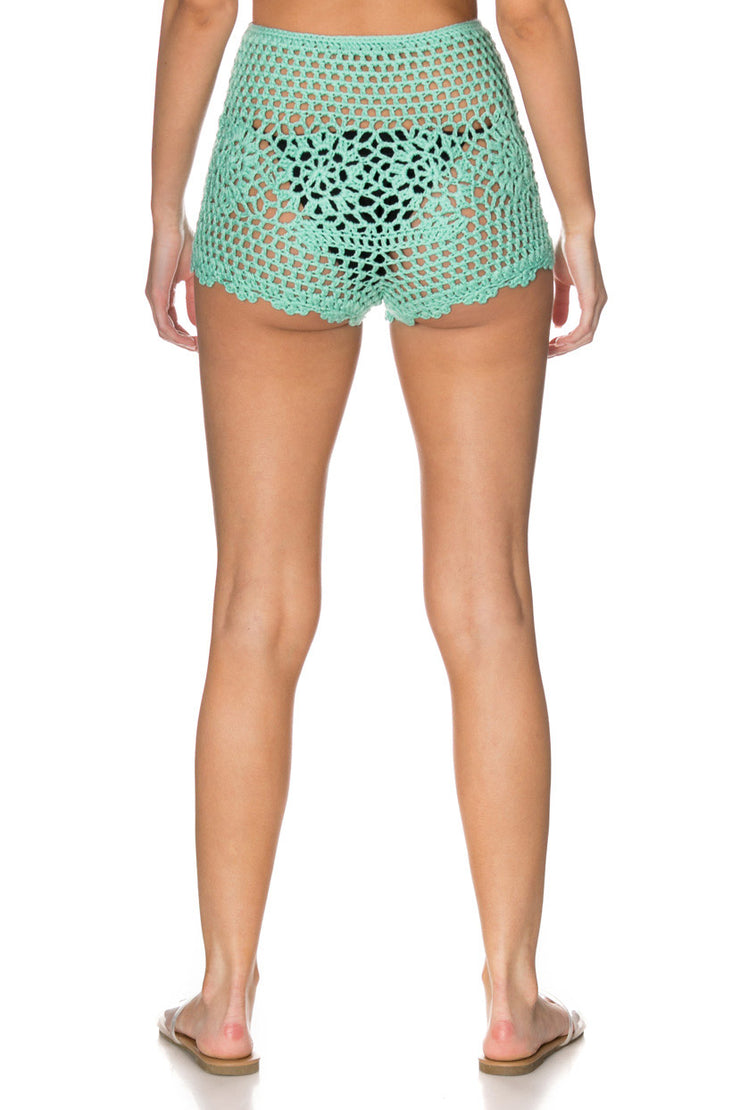 Aylori Crochet Shorts