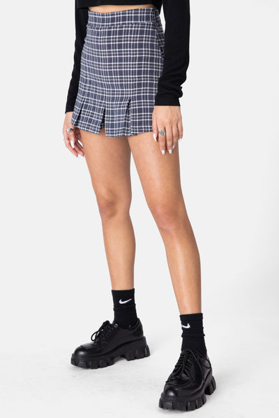 Buffalo Plaid Skort