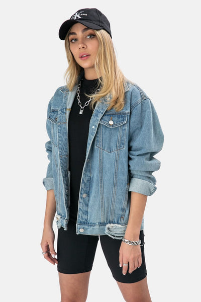 Seasons Oversize Jean Jacket