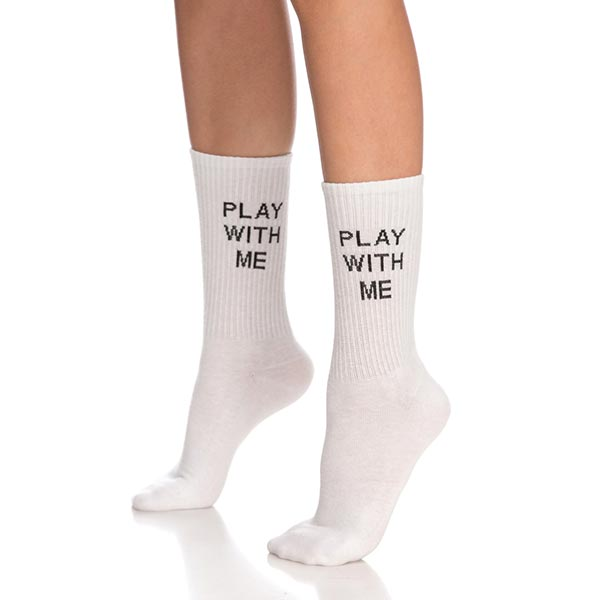PLAY WITH ME Socks
