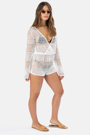 Nemesis Crochet Wrap Playsuit