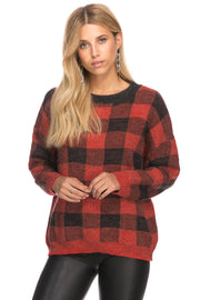 Perfect Squares Oversize Sweater