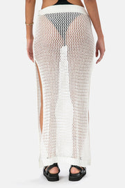 Milly Crochet Maxi Skirt