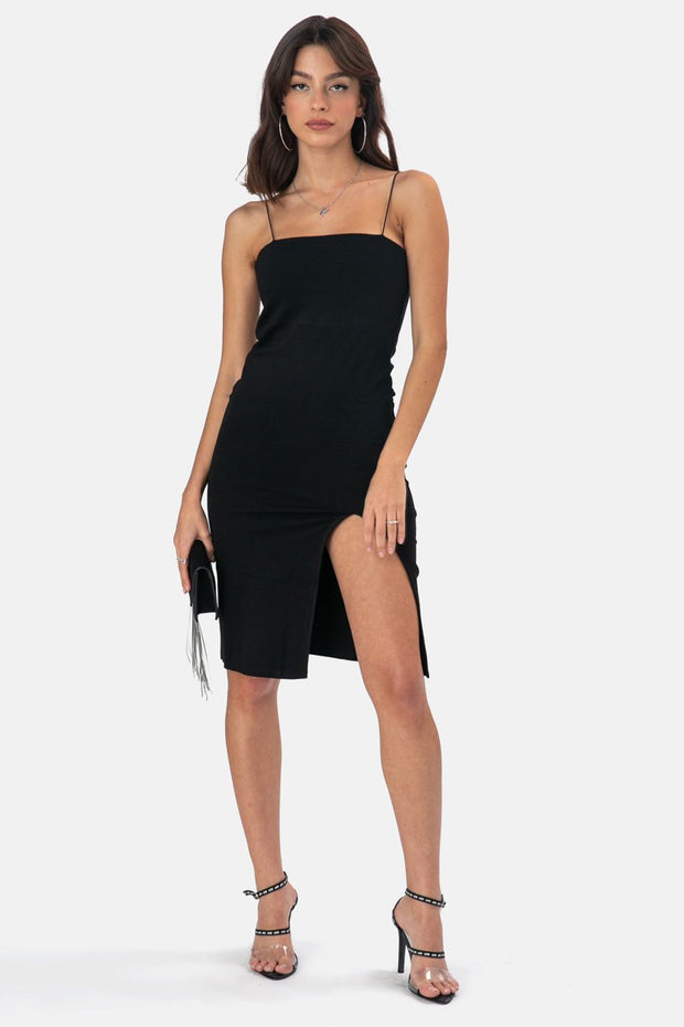 Kandis Midi Dress with Slit