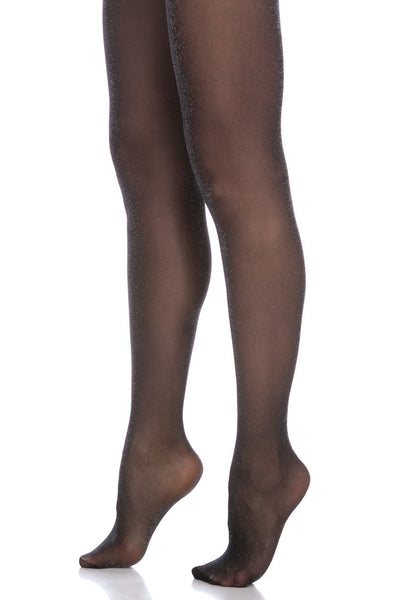 Glittery Sheer Tights