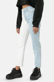 Stevens Color Block Jeans | MOM