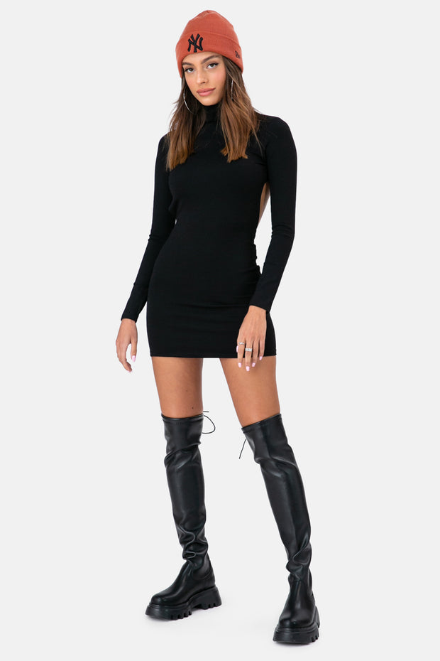 Backdraft Turtleneck Dress